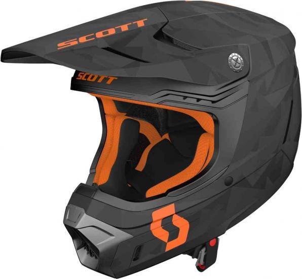 Scott 350 EVO Camo ECE Motocross Helmet