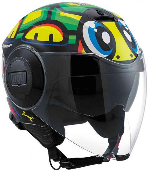 AGV City Fluid Tartaruga Top Jet Helmet