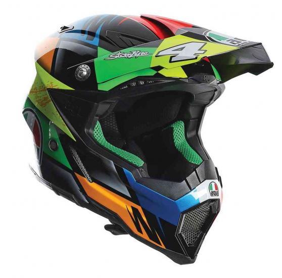 AGV AX-8 Evo Chareyre Replica Motocross Helmet