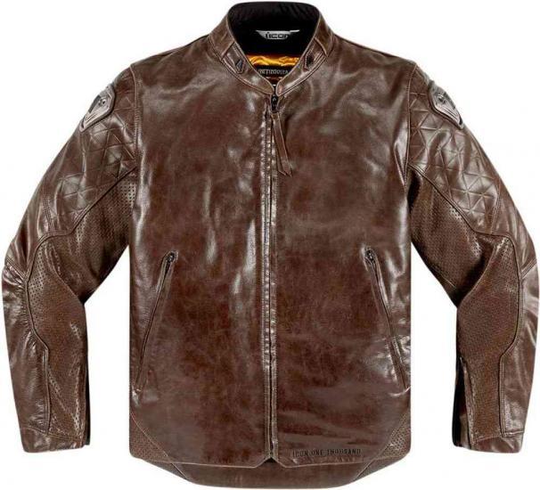 Icon Retrograde Leather Jacket