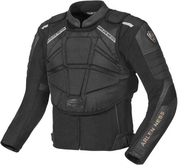Arlen Ness Tough Rider Leather/Textile Jacket