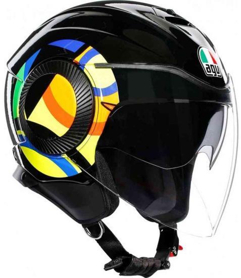 AGV Orbyt Sun and Moon 46 Jet Helmet