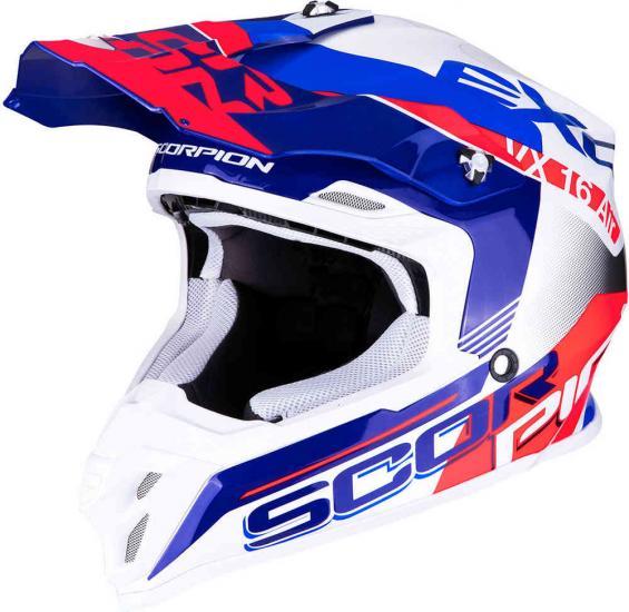 Scorpion VX-16 Air Arhus Motocross Helmet
