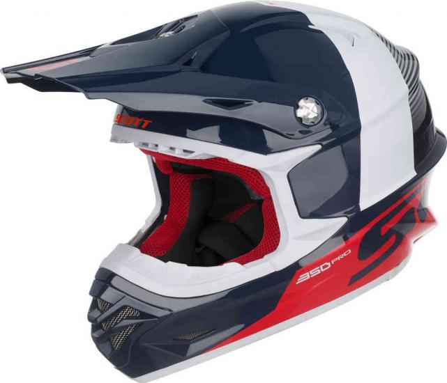 Scott 350 Pro Track Motocross Helmet
