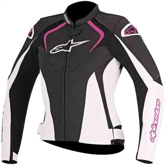 Alpinestars Stella Jaws Ladies Motorcycle Leather Jacket
