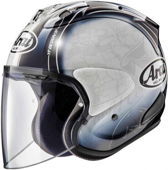 Arai SZ-R VAS Harada Tour Jet Helmet