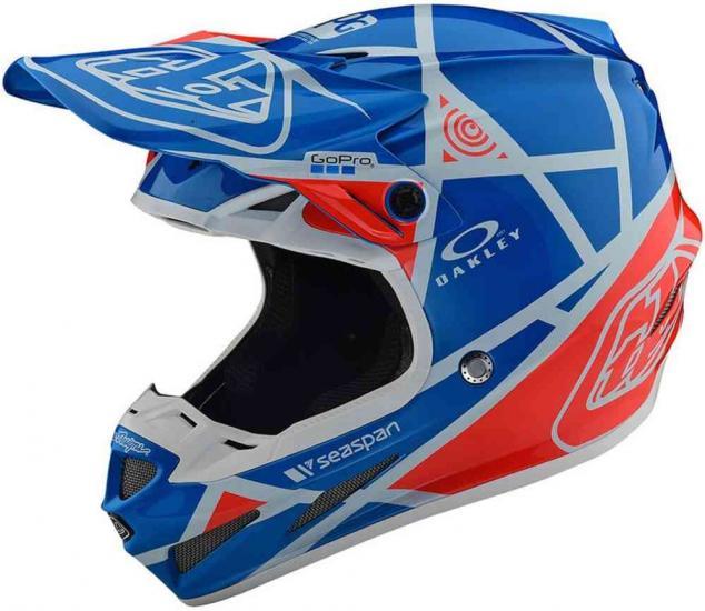 Troy Lee Designs SE4 Composite Metric Motocross Helmet