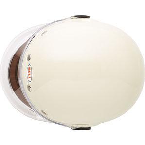 Bell Bullitt DLX Full-Face Helmet Stripes Pearl White