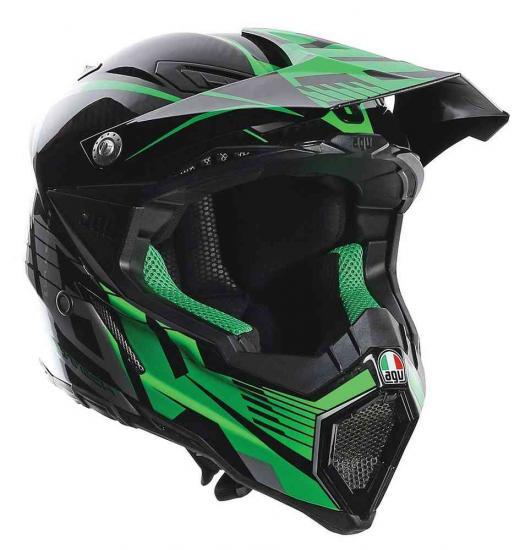AGV AX-8 Carbon Carbotech Motocross Helmet