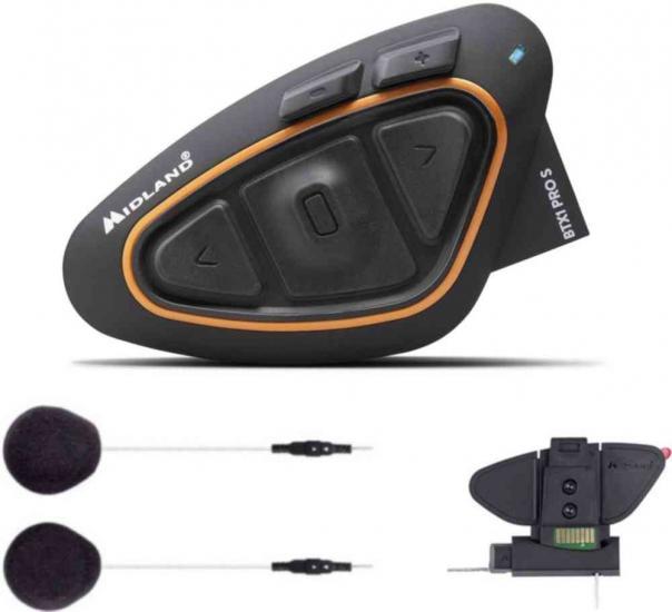 MIDLAND BTX1 Pro S Bluetooth Communication System Single Pack