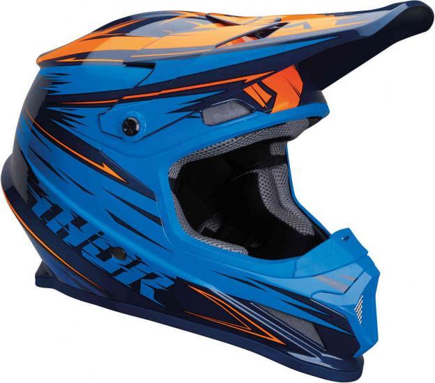 Thor Sector Warp Motocross Helmet