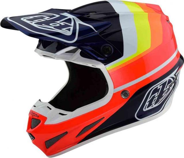 Troy Lee Designs SE4 Carbon Mirage Motocross Helmet