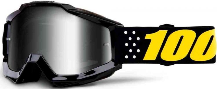 100% Accuri Extra Pistol Motocross Goggles