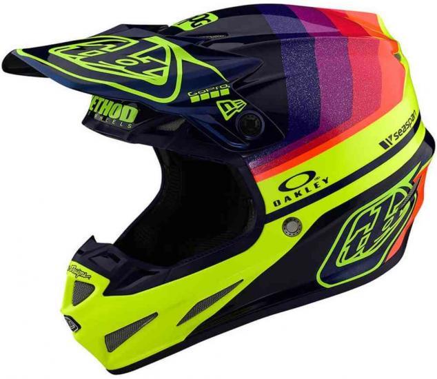 Troy Lee Designs SE4 Carbon Mirage Limited Edition Motocross Helmet