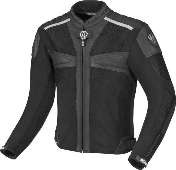 Arlen Ness Tek-Air Summer Motorcycle Leather/Textile Jacket