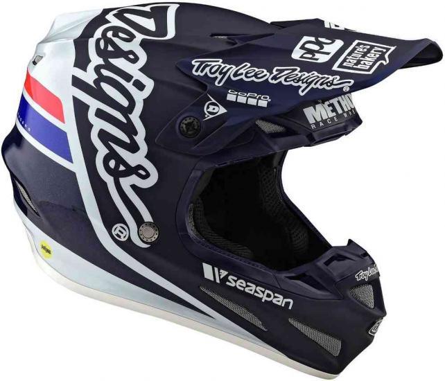 Troy Lee Designs SE4 Sillhouette MIPS Motocross Helmet
