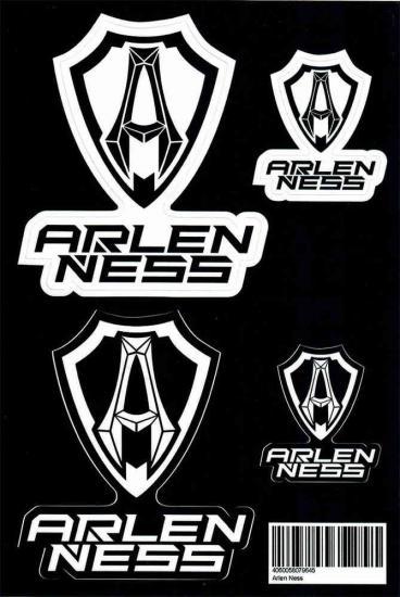 Arlen Ness Sticker Set