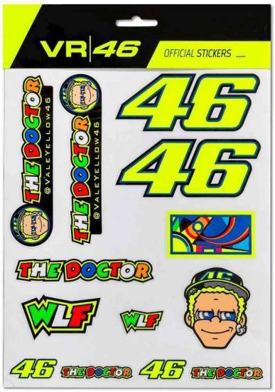 VR46 Big Set Sticker