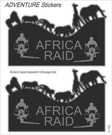 Booster Africa Raid Sticker Set