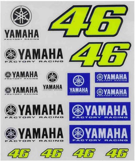 VR46 Yamaha Sticker
