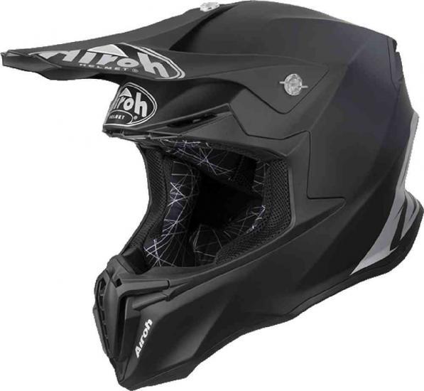 Airoh Twist Color MX Helmet Black Matt