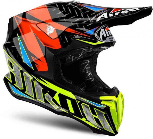 Airoh Twist Iron Motocross Helmet
