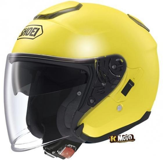 Shoei J-Cruise Jet Helmet Yellow