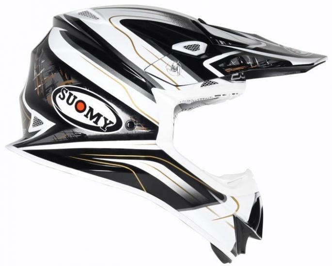 Suomy MR Jump Black Magic Motocross Helmet
