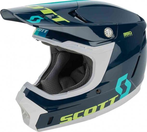 Scott 350 Evo Plus Track Motocross Helmet