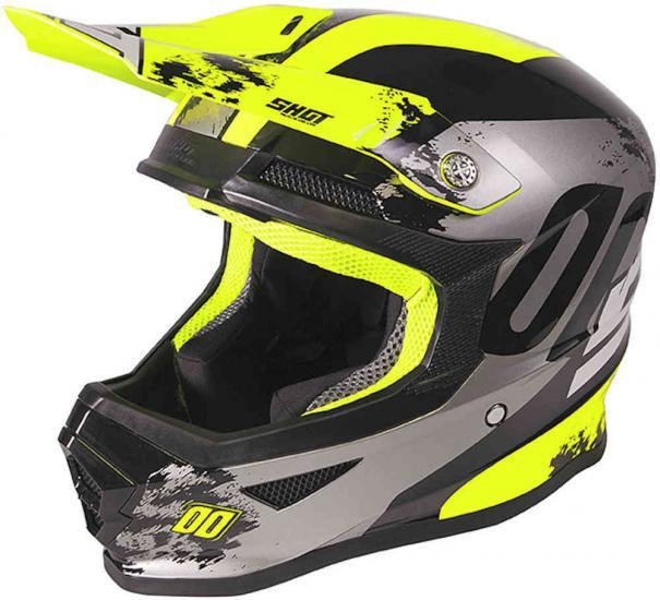 Shot Furious Shadow Motocross Helmet