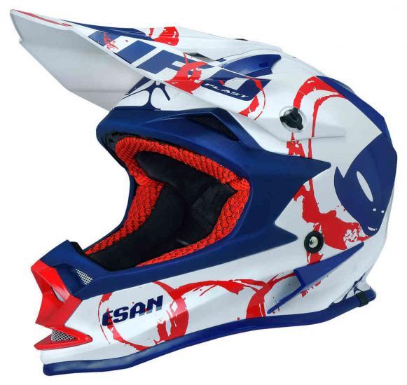 UFO Onyx Esan Kids Motocross Helmet