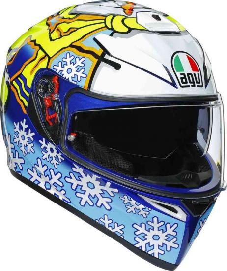 AGV K-3 SV Rossi Winter Test 2016 Helmet