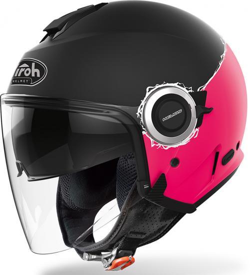 Airoh Helios Fluo Jet Helmet