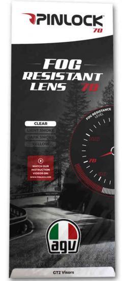 AGV DKS 118 Pinlock Lens
