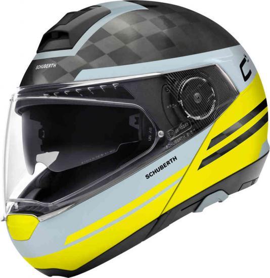 Schuberth C4 Pro Carbon Tempest Motorcycle Helmet