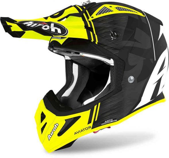 Airoh Aviator ACE Kybon Motocross Helmet