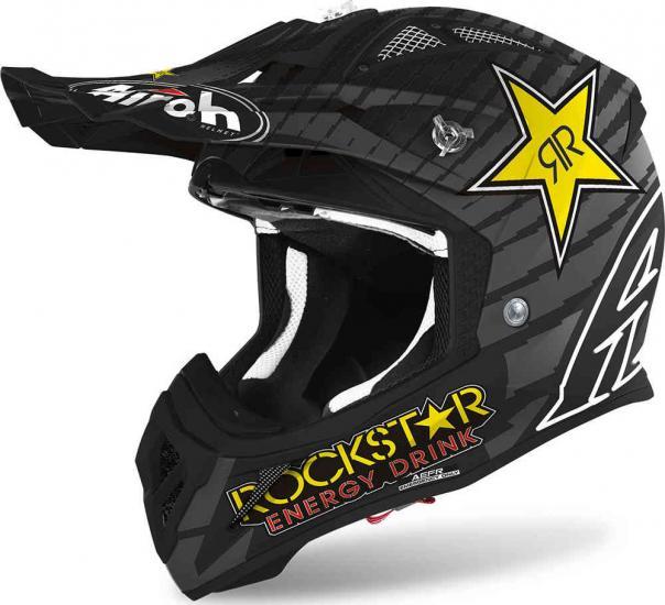 Airoh Aviator ACE Rockstar Motocross Helmet