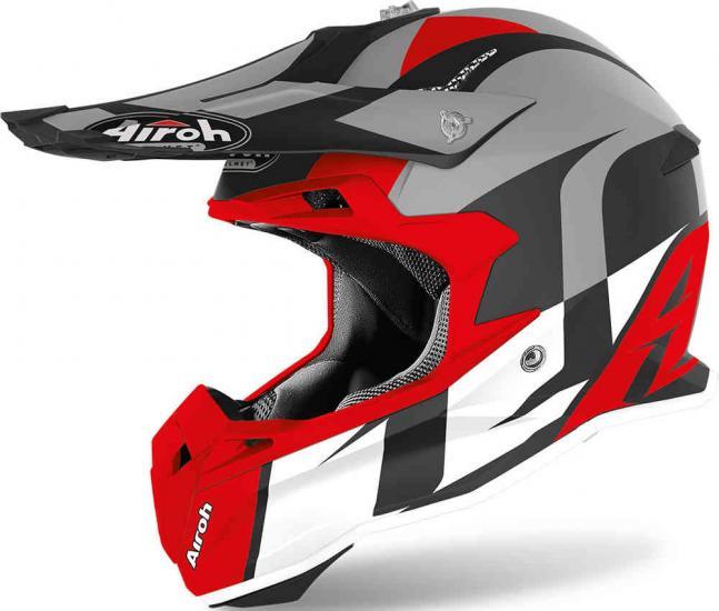 Airoh Terminator Open Vision Shoot Motocross Helmet