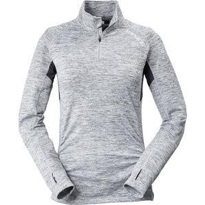 Vanucci Zip-Up Shirt Women, Flecked