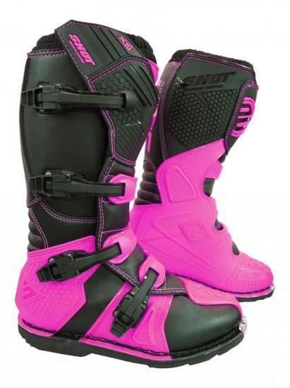 Shot X10 2.0 Fluo Motocross Boots