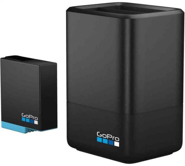 GoPro Dual Battery Hero6 Black/Hero7 Black/Hero8 Black Charger With Battery