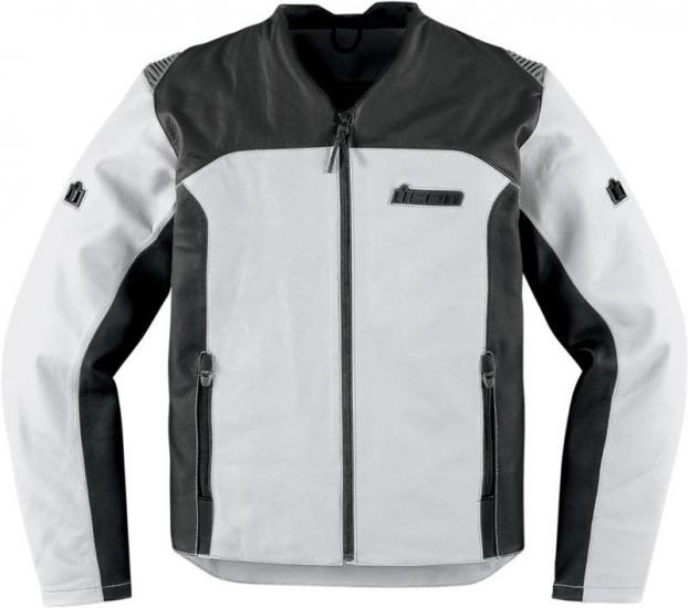 Icon Device Leather Jacket