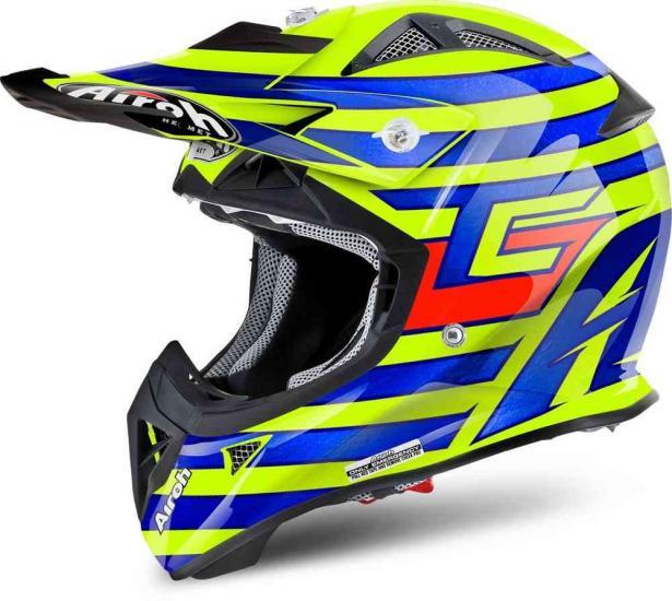 Airoh Aviator J Cairoli Qatar Kids Motocross Helmet