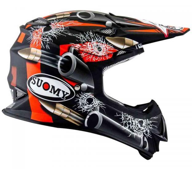 Suomy MR Jump Bullet Matt Motocross Helmet