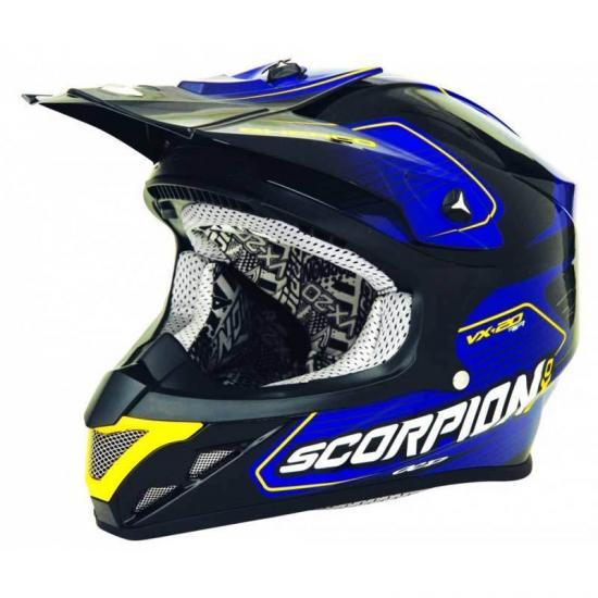 Scorpion VX-20 Air Sherco Cross Helmet