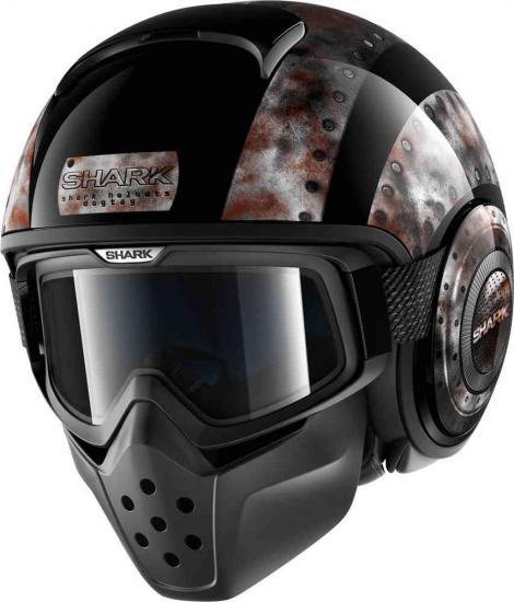 Shark Drak Dogtag Jet Helmet