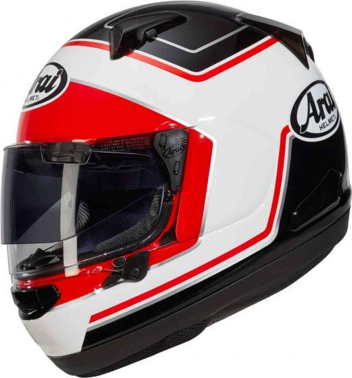 Arai QV-Pro Triple White Helmet