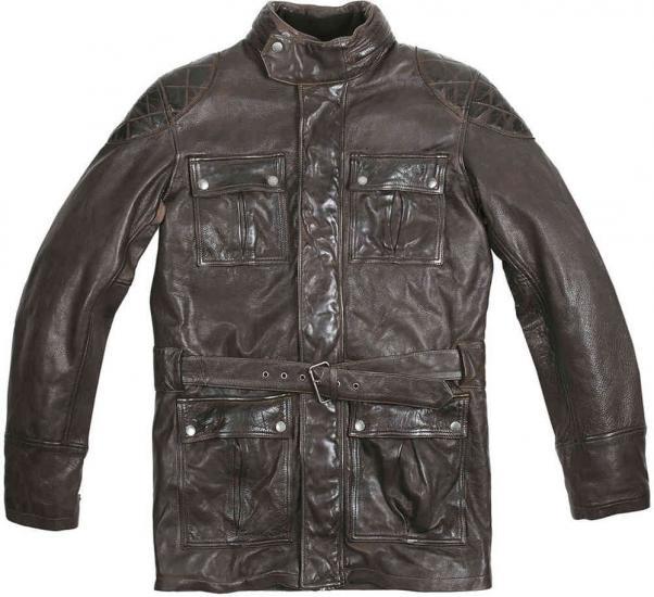 Helstons Douglass Rag Leather Jacket