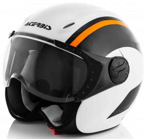 Acerbis K-Jet on Bike Jet Helmet