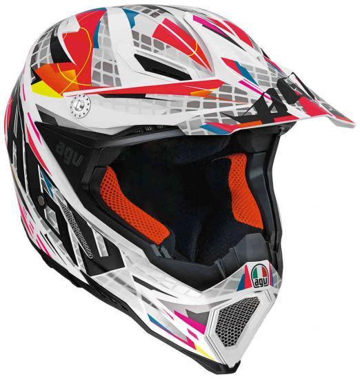 AGV AX-8 Evo Whip Motocross Helmet